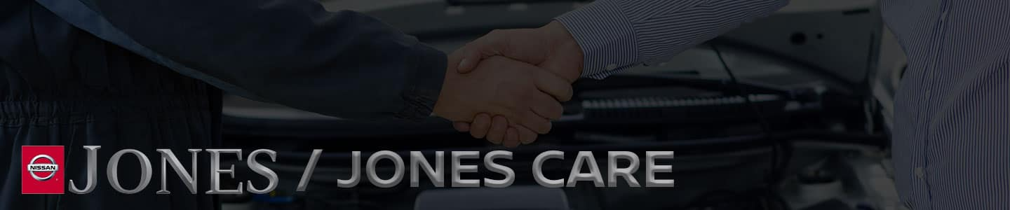 Jones Nissan Jones Care