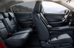 2019 Honda HR-V passenger space