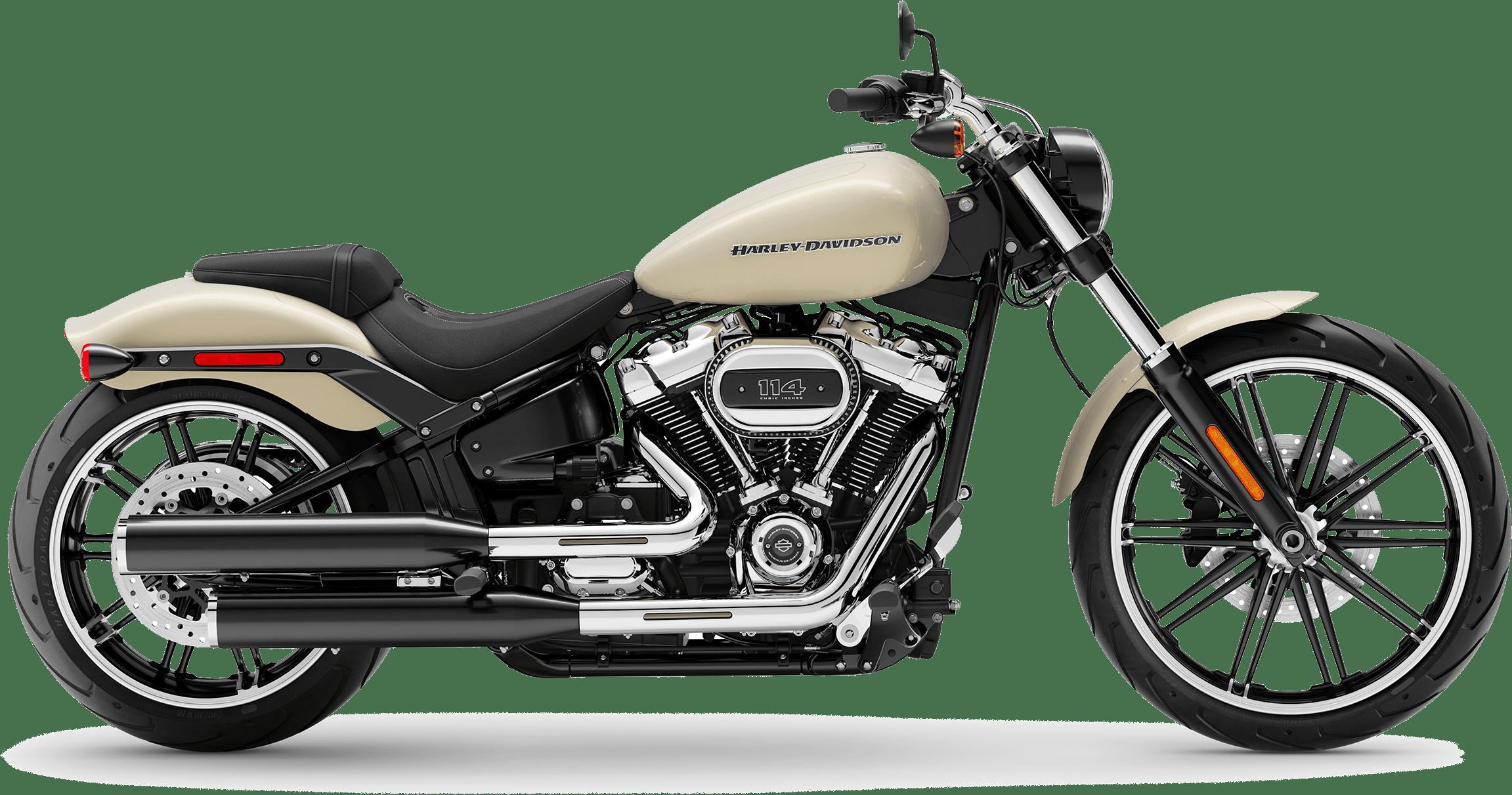 2019 Harley-Davidson Softail Breakout Bonneville Salt Pearl