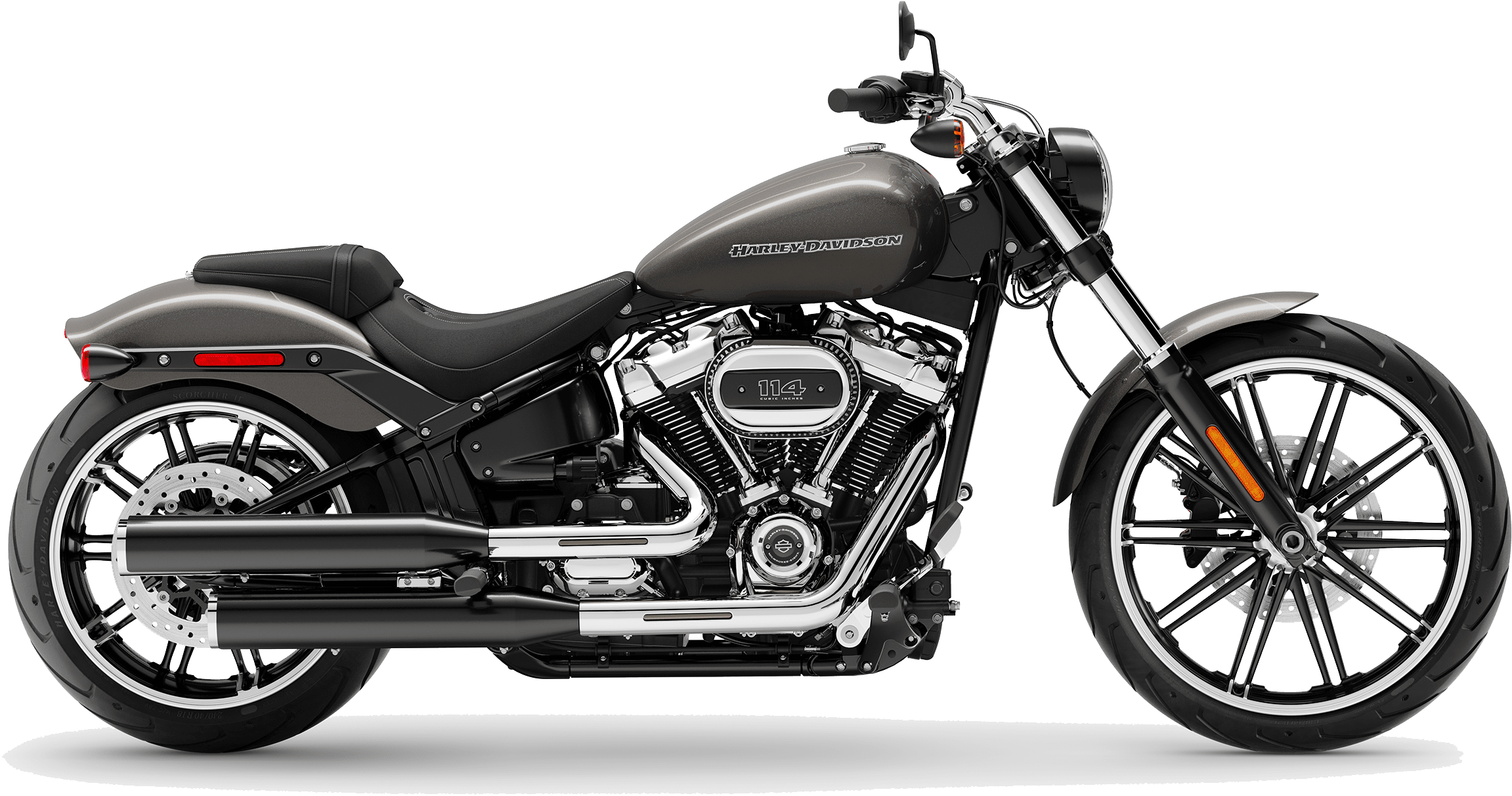 2019 Harley-Davidson Softail Breakout Industrial Grey
