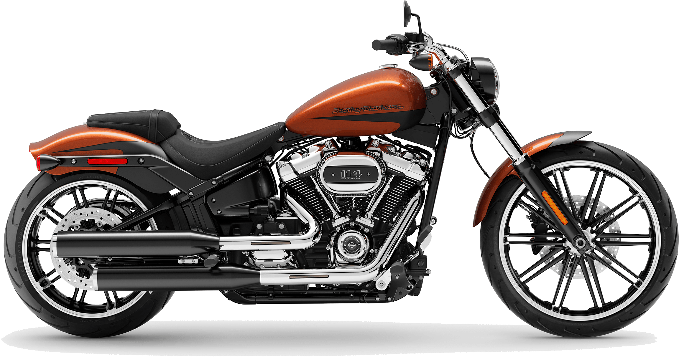 2019 Harley-Davidson Softail Breakout Scorched Orange