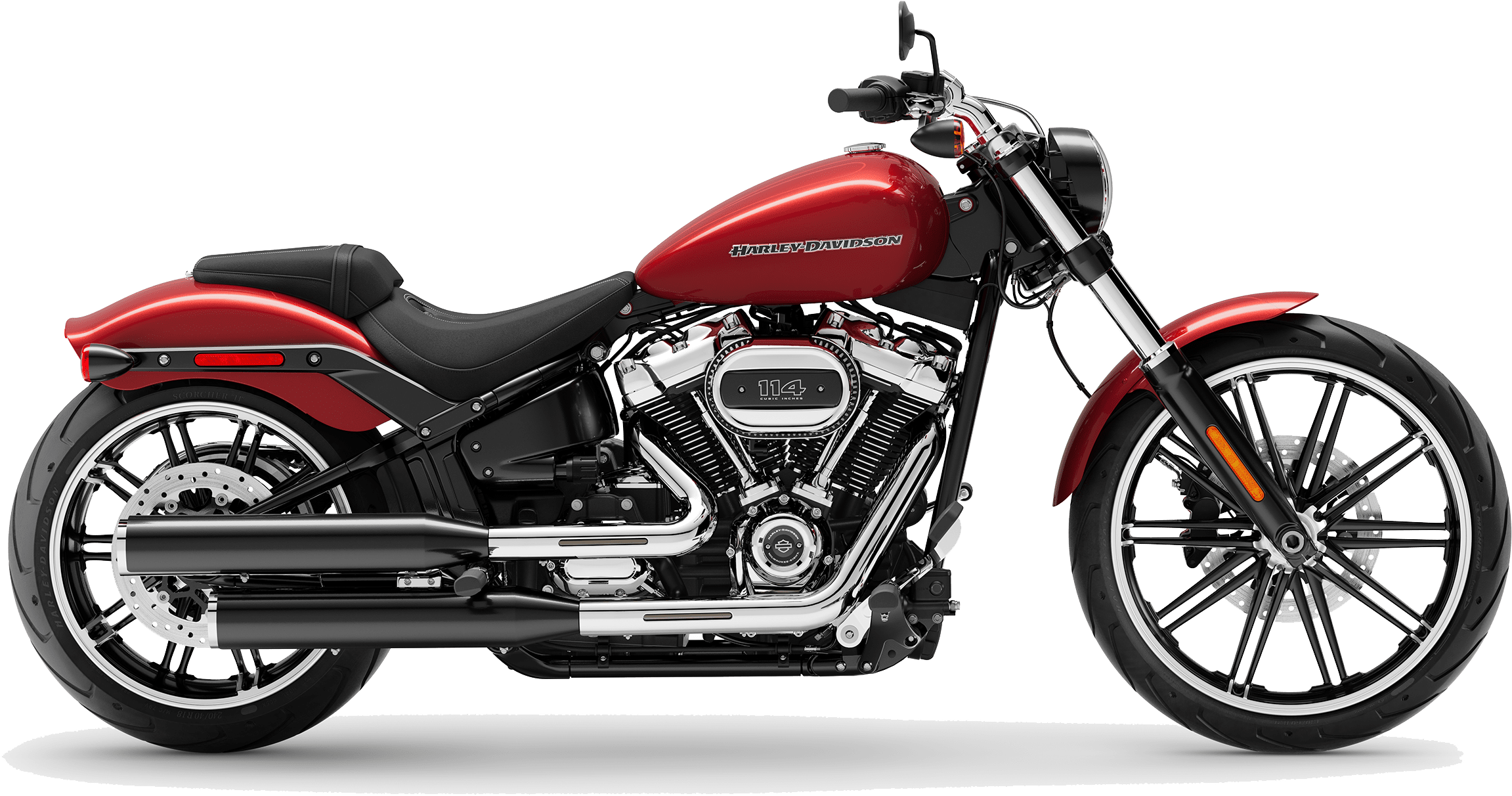 2019 Harley-Davidson Softail Breakout Wicked Red
