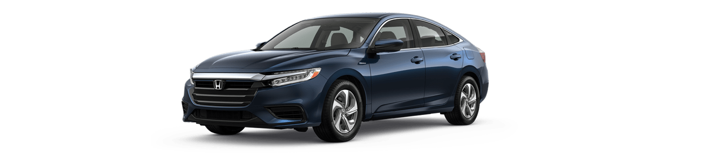 Blue 2019 honda Insight