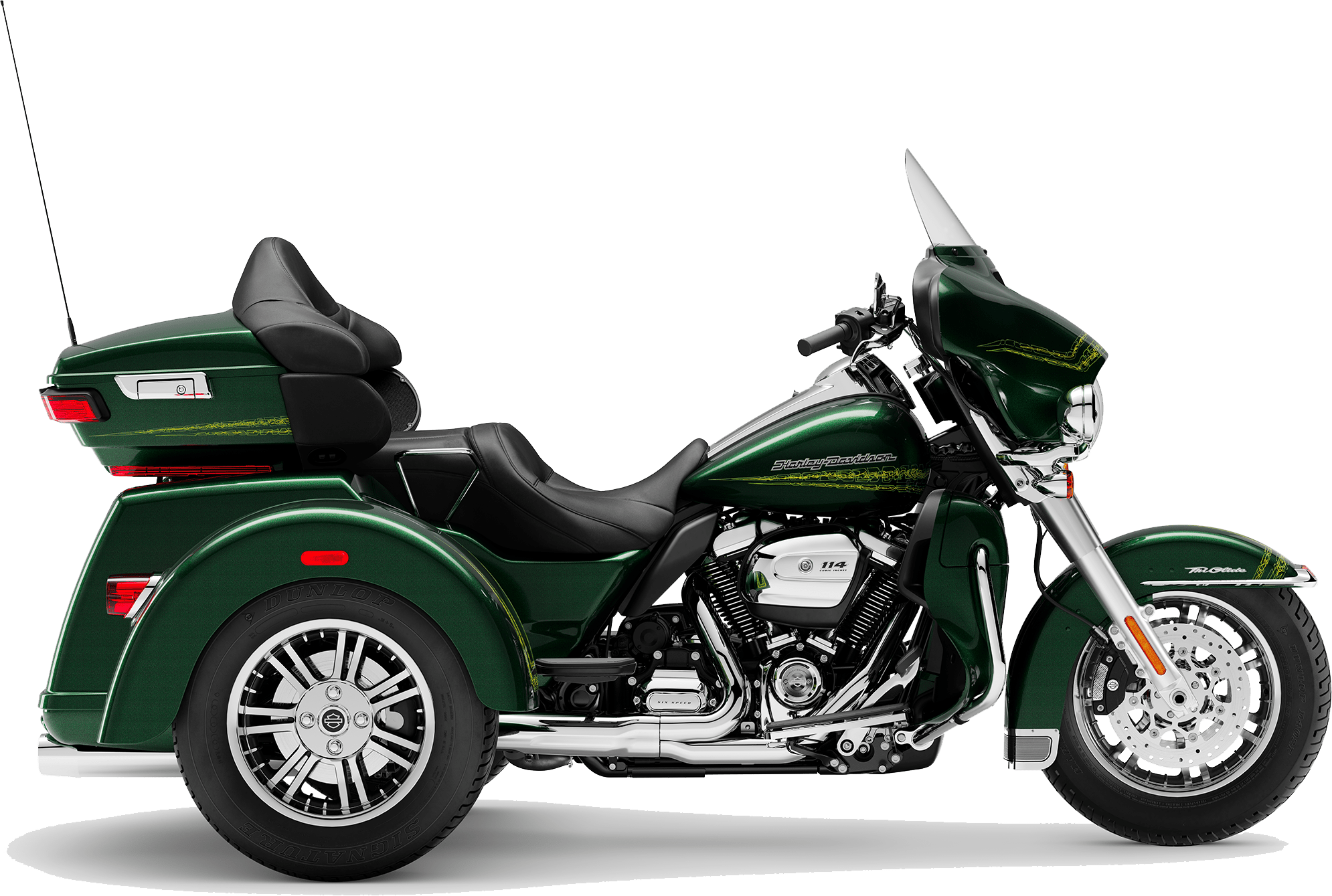2019 Harley-Davidson Tri-Glide Kinetic Green
