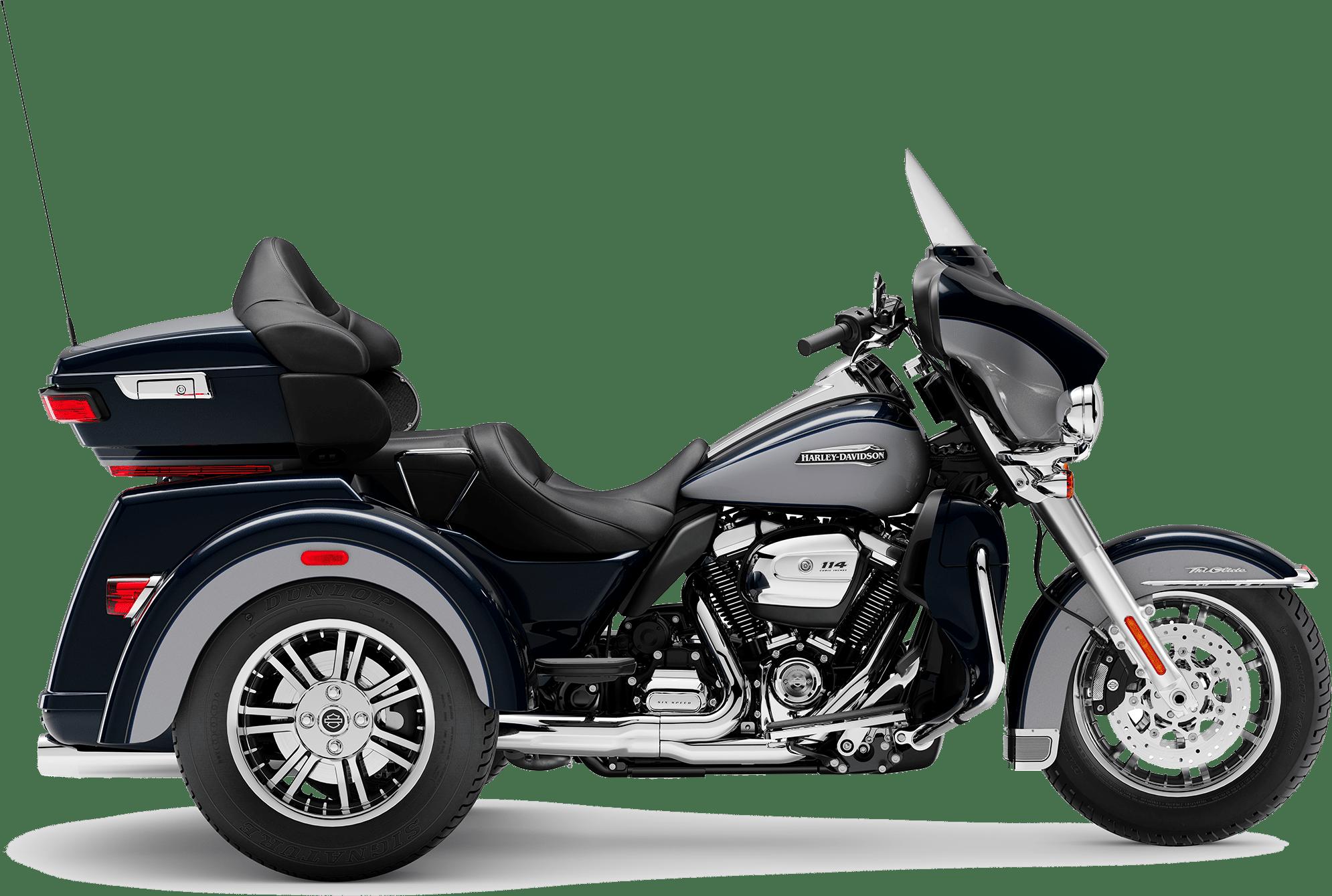 2019 Harley-Davidson Tri-Glide Midnight Blue