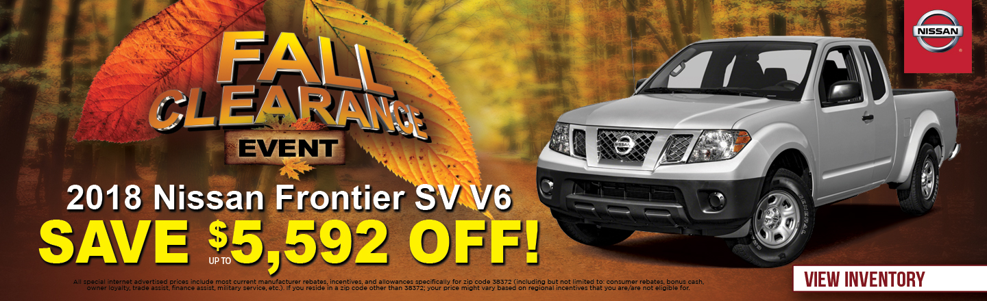 Awesome NEW 2018 Nissan Frontier SV V6