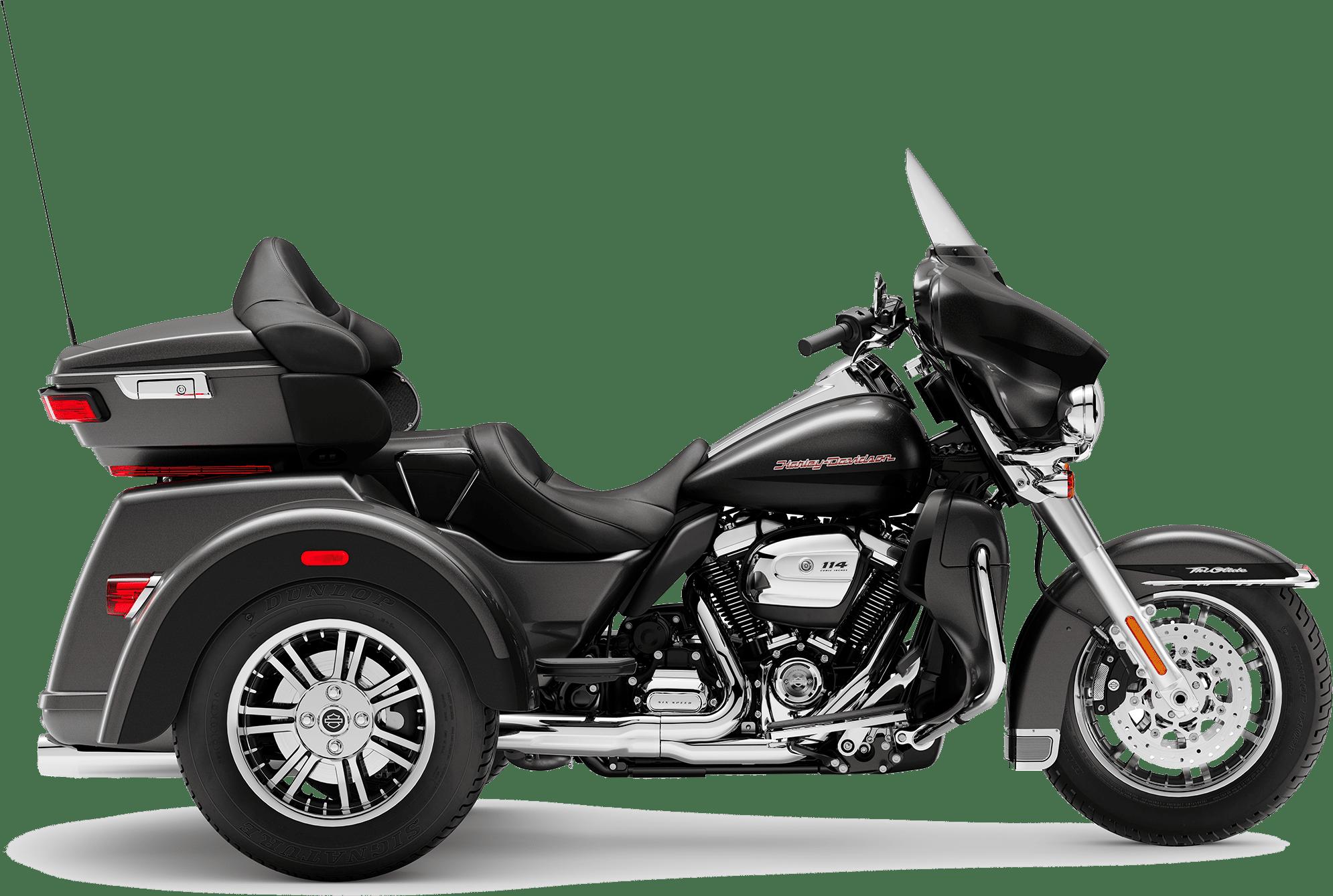 2019 Harley-Davidson Tri-Glide Ultra Silver Flux Black Fuse