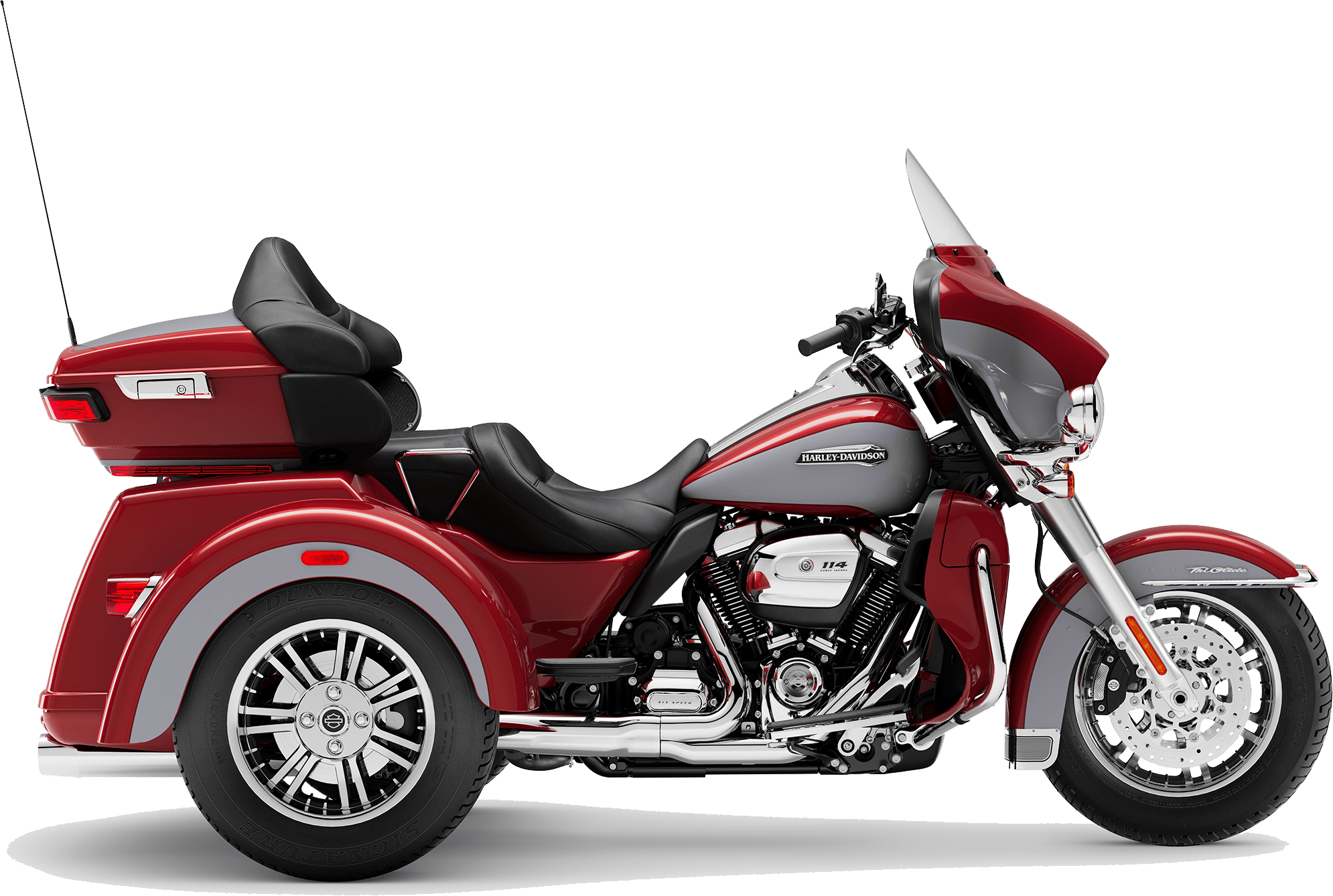 2019 Harley-Davidson Tri-Glide Ultra Wicked Red Barracuda Silver