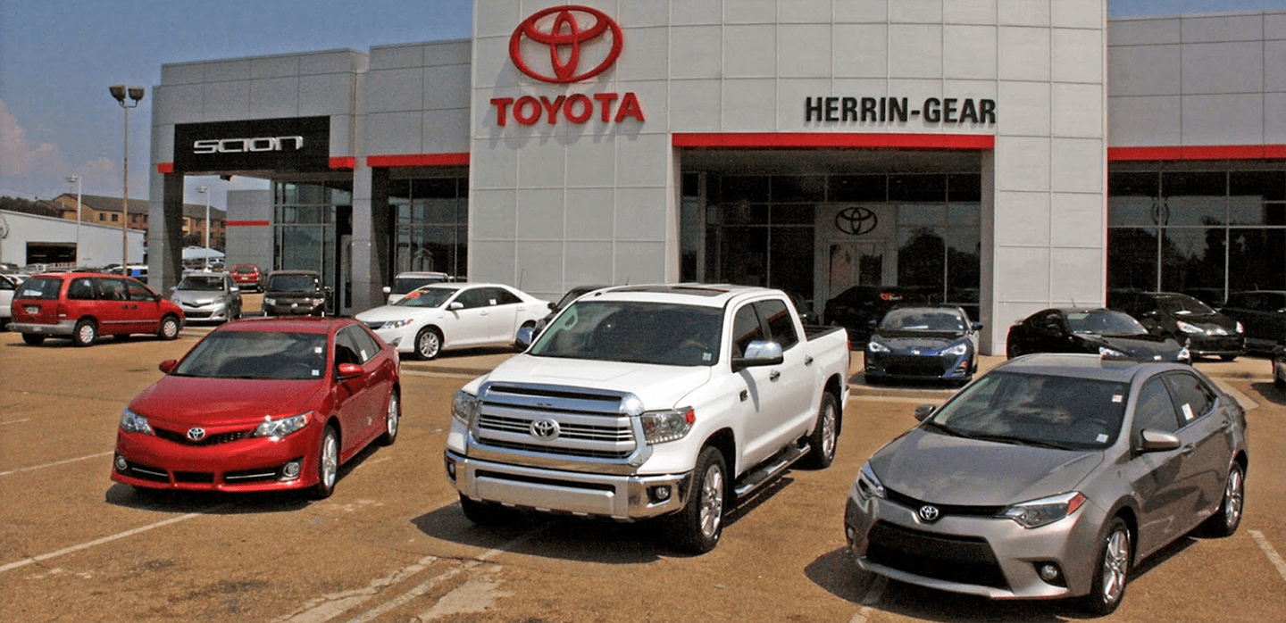 Cars For Sale In Jackson Ms >> Auto Dealership Serving Jackson Ms Drivers Herrin Gear Toyota