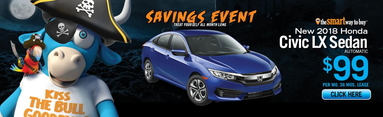 2018 Honda Civic Sedan LX For Sale Near Elizabeth, NJ