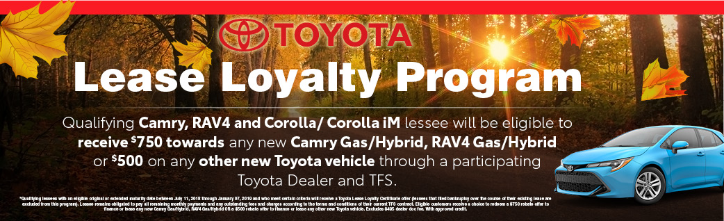 Toyota Lease, Toyota Lease Deals, Toyota Specials