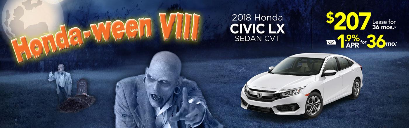 Captivating 2018 Honda Civic Sedan LX CVT At Community Honda Of Orland Park
