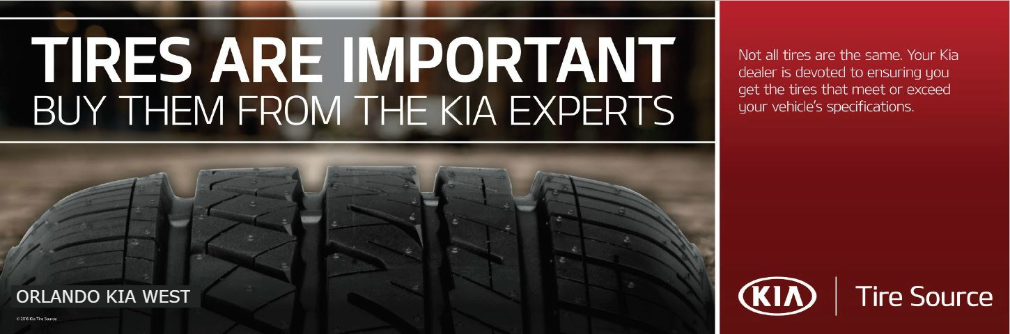 tires are important buy them from the kia experts