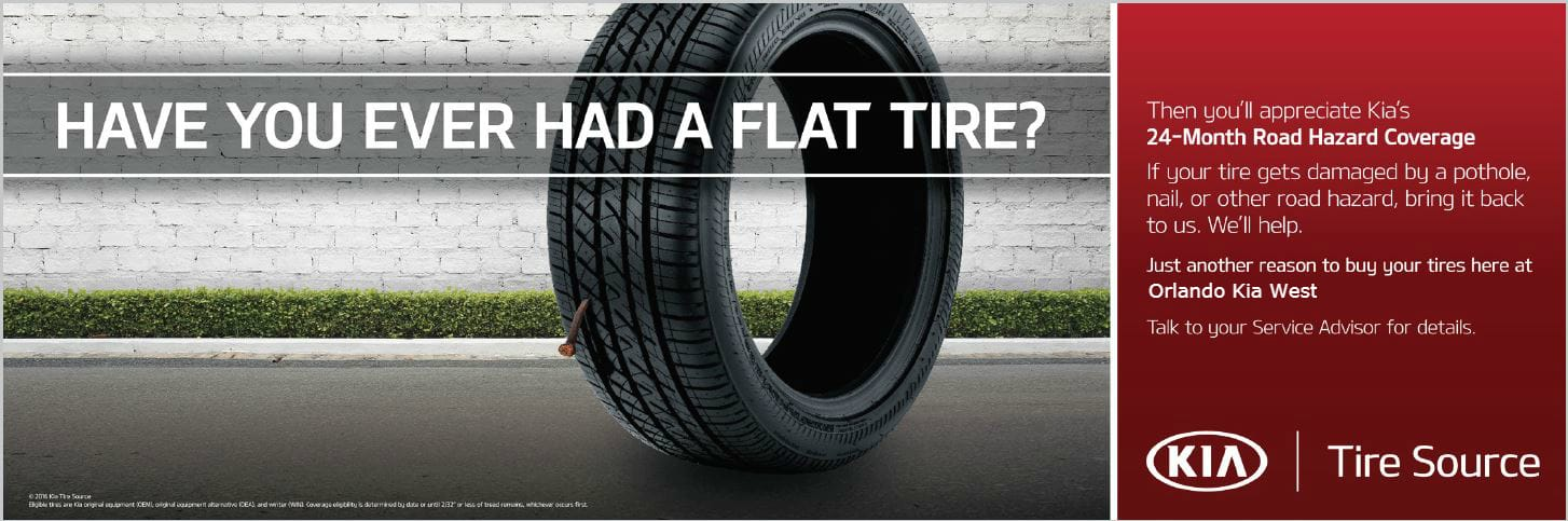 have you ever had a flat tire