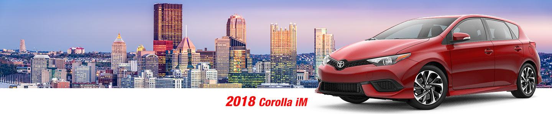 2018 Toyota Corolla iM Hatchback in Pleasant Hills, PA