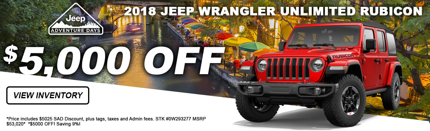 Chrysler Dodge Jeep Ram Monthly Specials From San Antonio CDJR