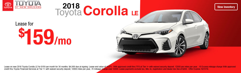 Lovely 2018 Toyota Corolla