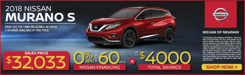 Nissan Of Newnan New And Used Dealership Near Atlanta GA - Car pro show dealers