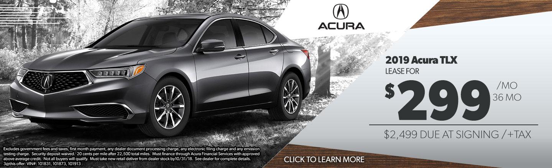 Acura Lease Specials In Ventura California Gold Coast Acura - Acura rlx lease