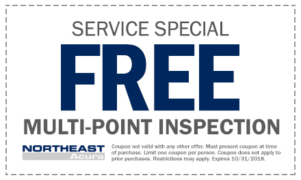 Service Parts Specials Northeast Acura - Acura dealer service coupons
