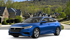 Honda Insight blue
