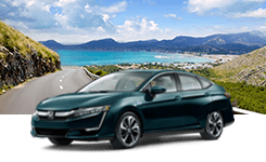 Honda Clarity dark blue
