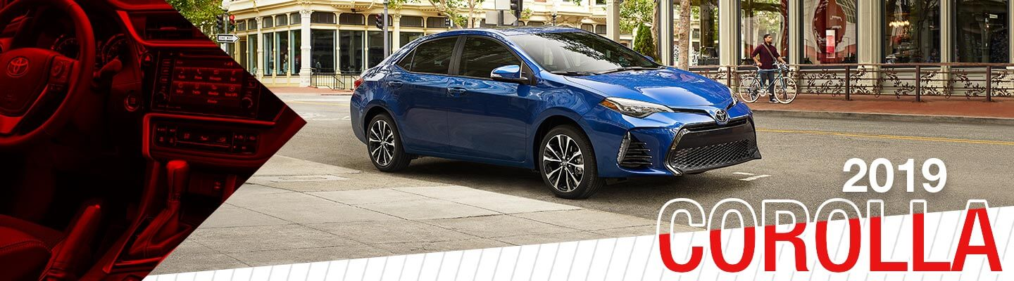 all-new 2019 Toyota Corolla at Oakes Toyota