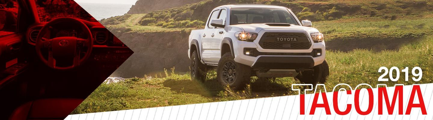 all-new 2019 Toyota Tacoma at Oakes Toyota
