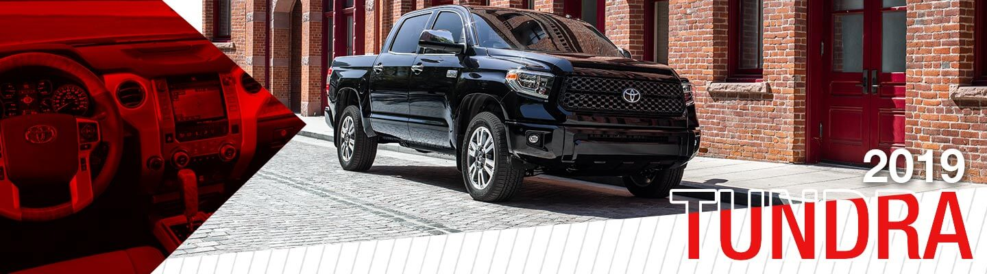 all new 2019 Toyota Tundra at Oakes Toyota