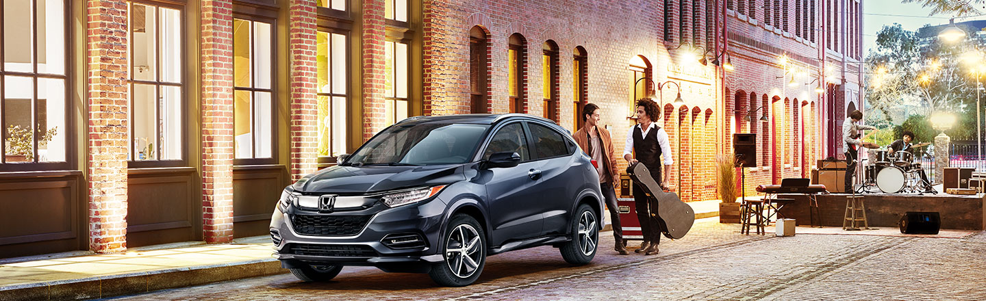 Black 20019 Honda HR-V Crossover at Roush Honda