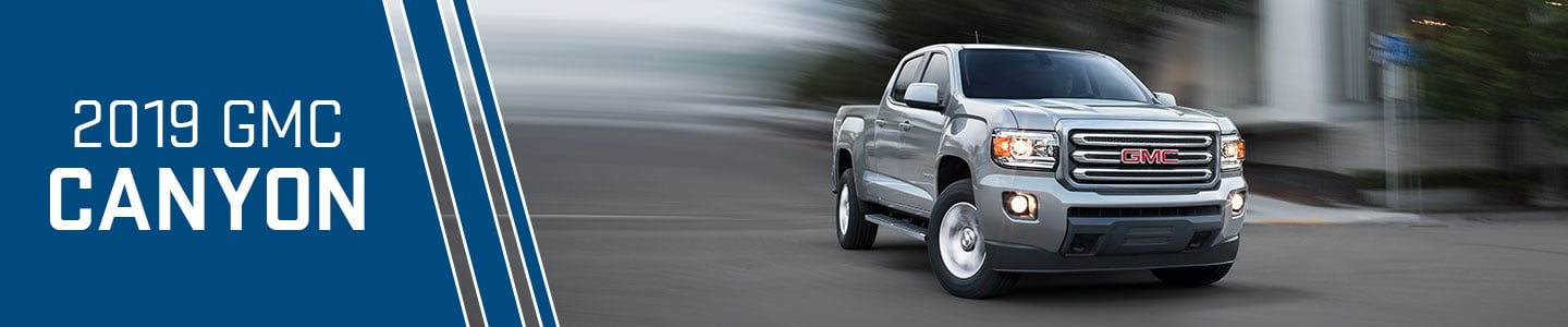 2019 gmc canyon street road silver truck