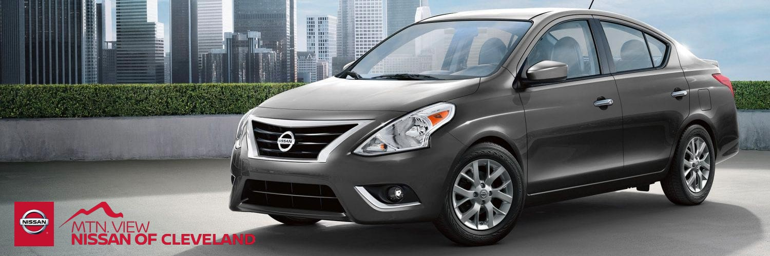 2019 Nissan Versa Sedans For Cleveland & Chattanooga, TN Car Shoppers
