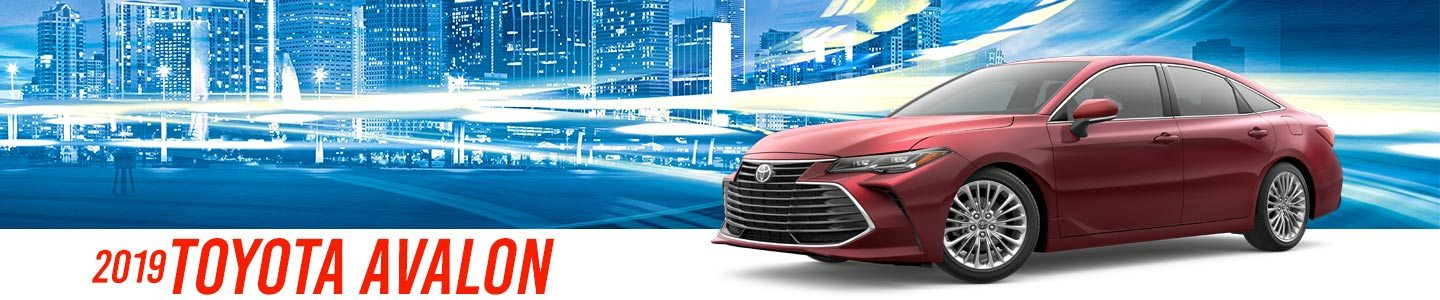 2019 Red Exterior Avalon On Road at Stevinson Toyota East