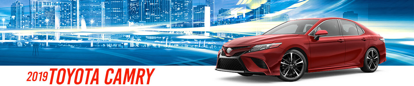 2019 Camry On Road at Stevinson Toyota East