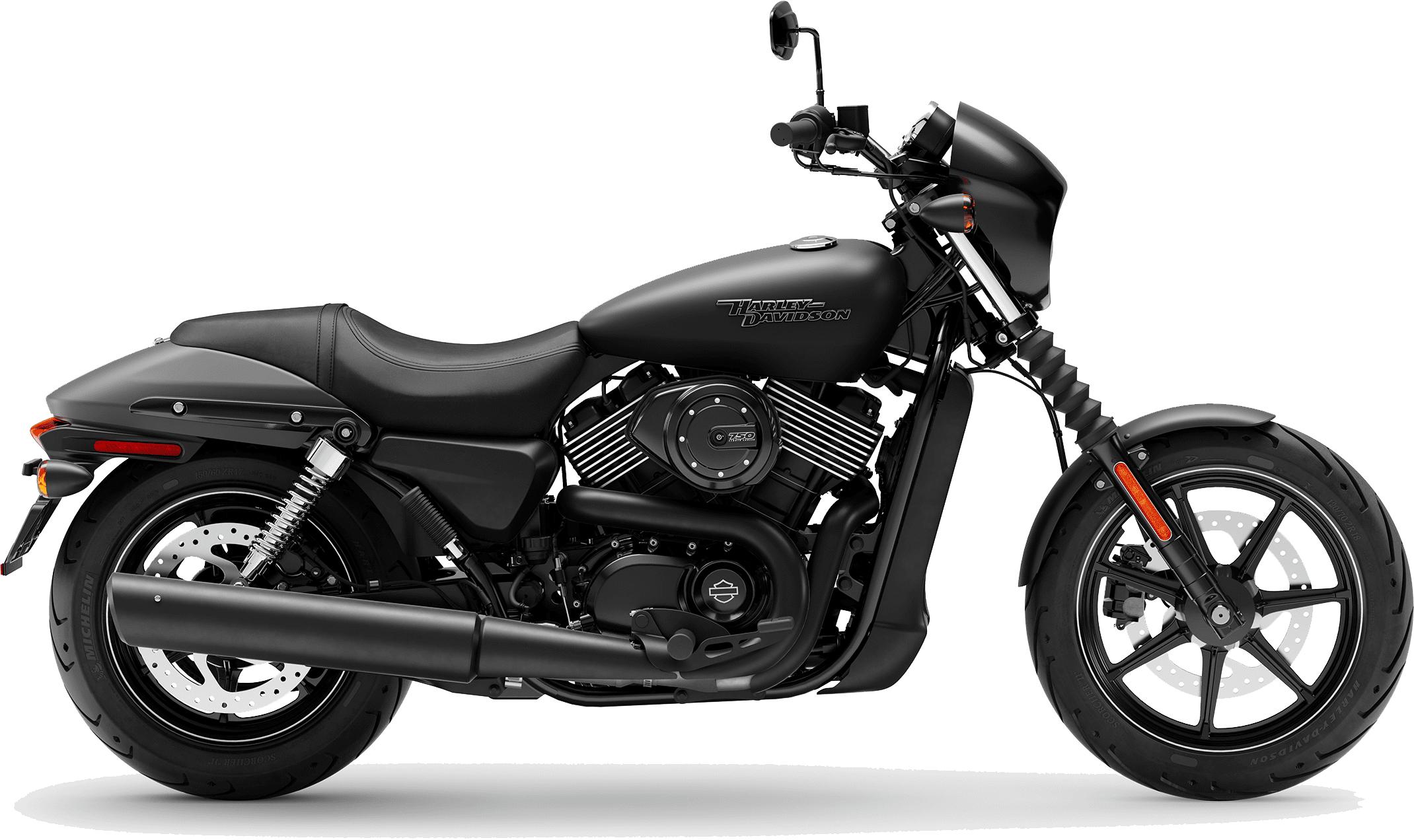 2019 Harley-Davidson H-D Street 750 Black Denim
