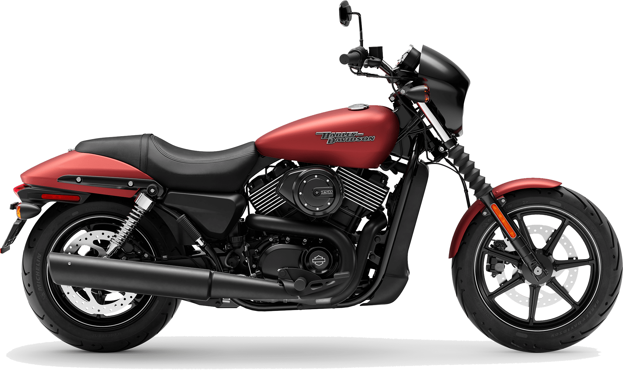 2019 Harley-Davidson H-D Street 750 Wicked Red Denim