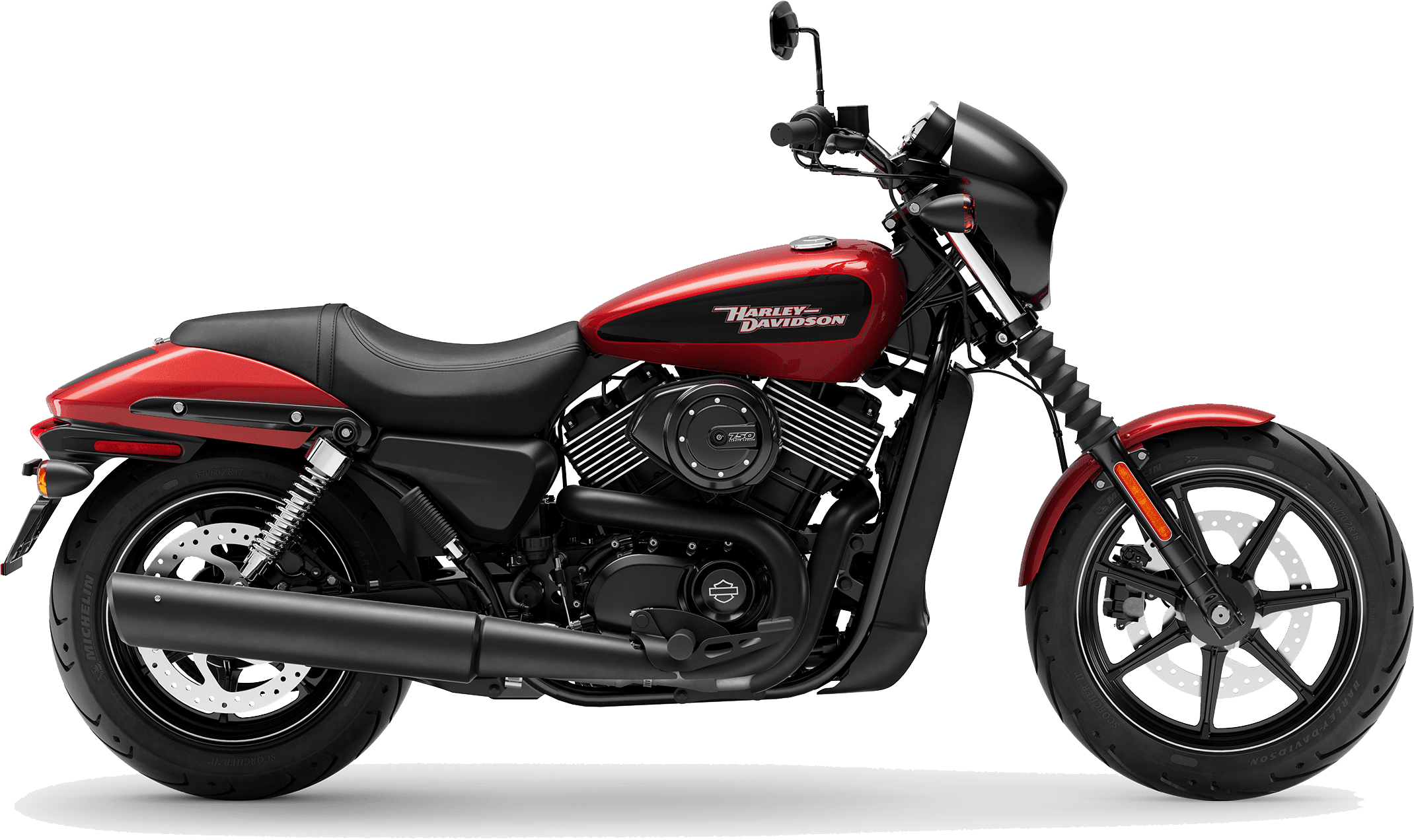 2019 Harley-Davidson H-D Street 750 Wicked Red Deluxe