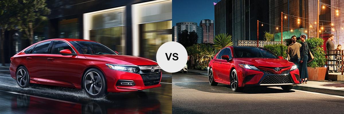 2018 Honda Accord Sport vs 2018 Toyota Camry XSE
