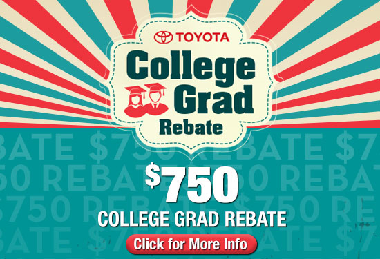 Toyota College Rebate
