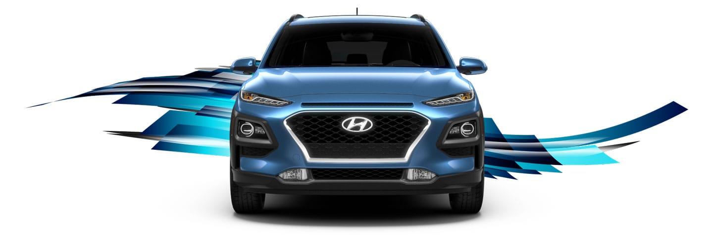 Hyundai Kona blue
