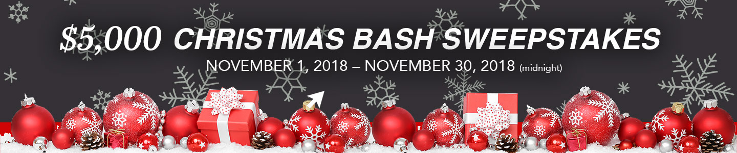 Louie Herron CDJR | Christmas Bash Sweeptstakes