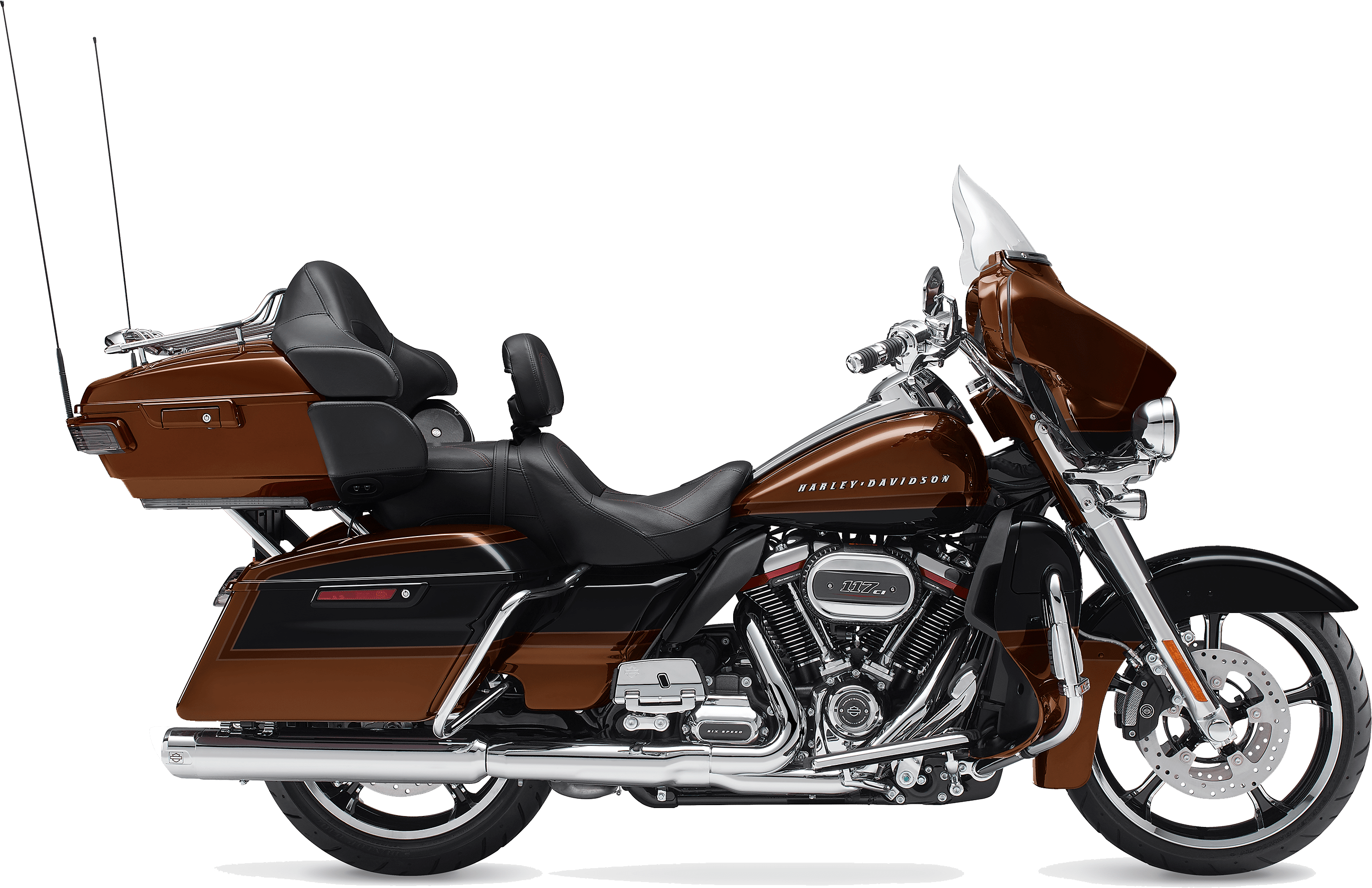 2019 Harley-Davidson H-D CVO Limited Auburn Sunglo Black Hole with Rich Bourbon