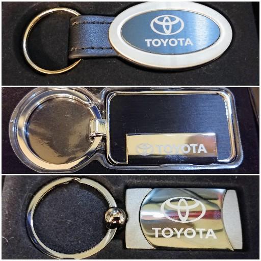 Toyota Assorted Keychains