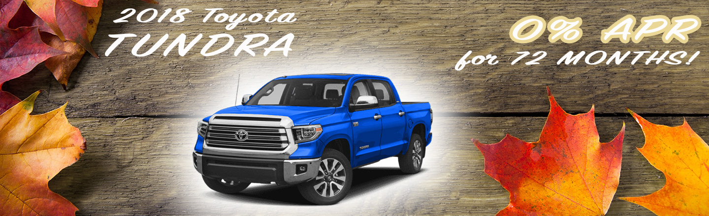 2018 Tundra Special Offer