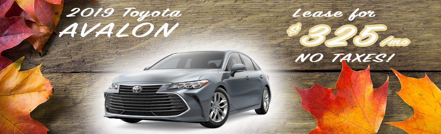 2019 Avalon Special Offer
