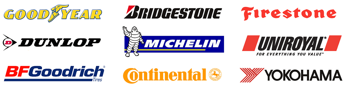tire brands graphic