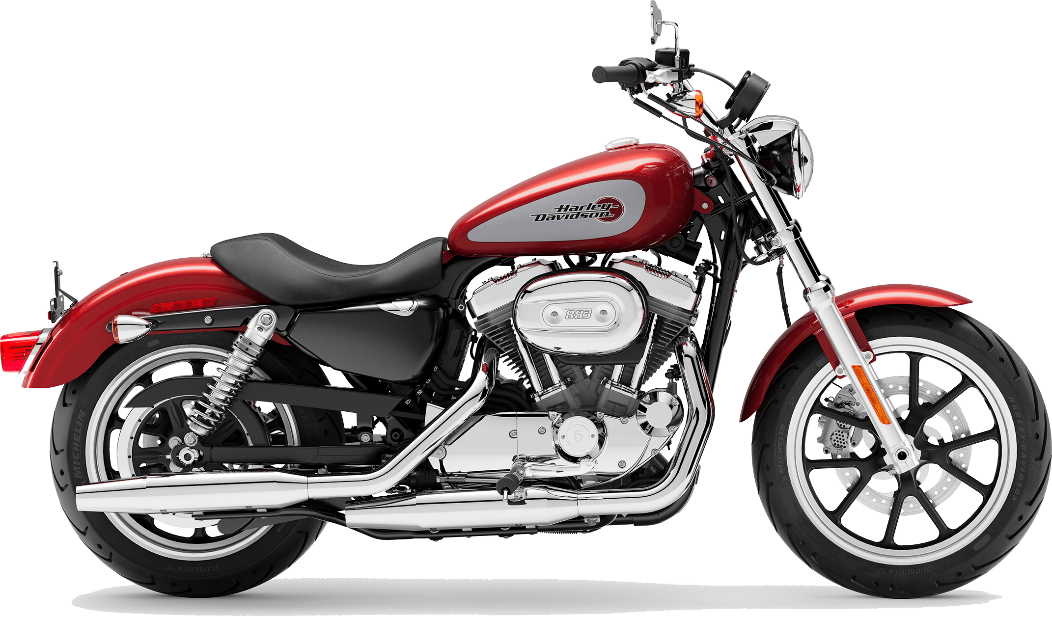 2019 Harley-Davidson H-D SuperLow Wicked Red Barracuda Silver