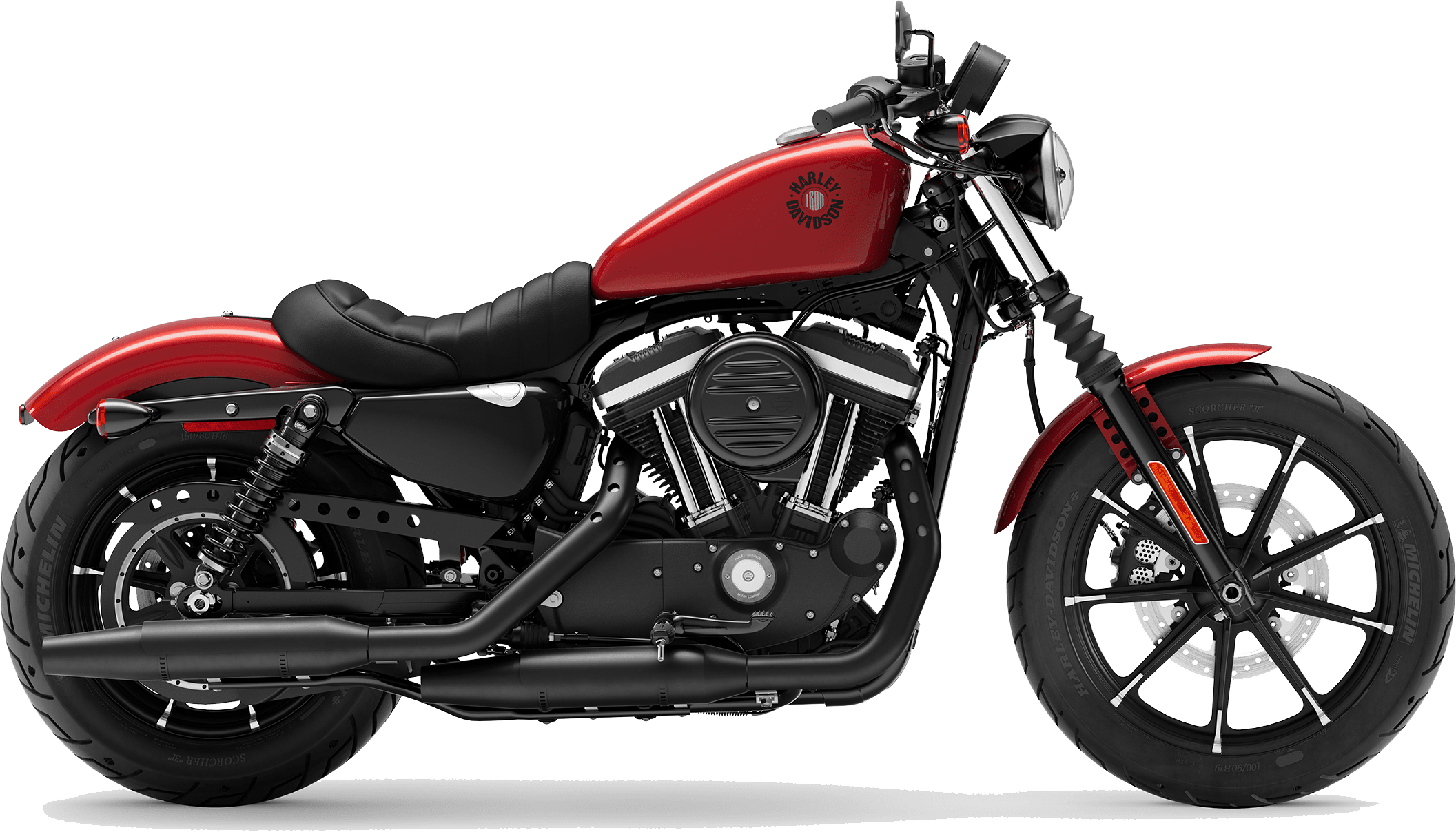2019 Harley-Davidson H-D Sportster Iron 883 Wicked Red