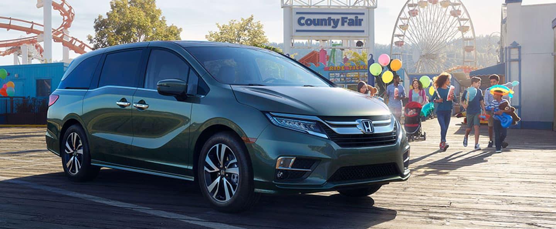 2019 Honda Odyssey is family friendly