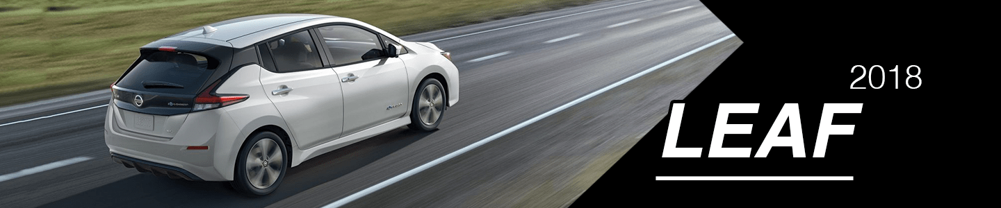 Discover the 2018 Nissan LEAF Electric Car in Savannah, TN